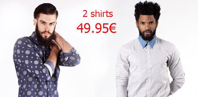 Offerta Camice 2 x 49.95€